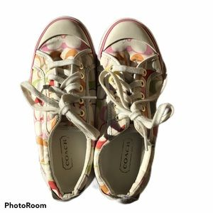 Coach Sneakers Ladies Size 6